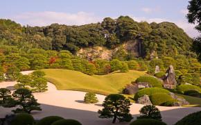Adachi museum och trädgård