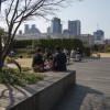 Isetan takträdgård Shinjuku