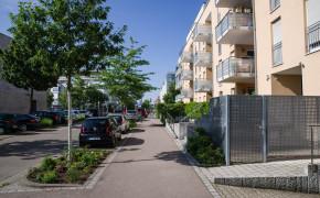 Stadsdelen Rieselfeld i Freiburg